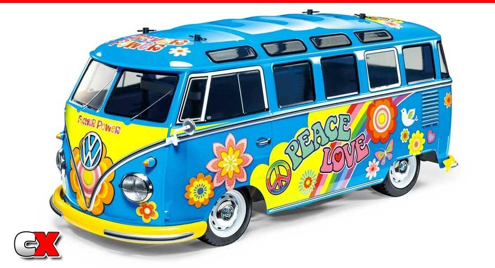 Tamiya Volkswagen Type 2 M05 Bus - Flower Power   CompetitionX
