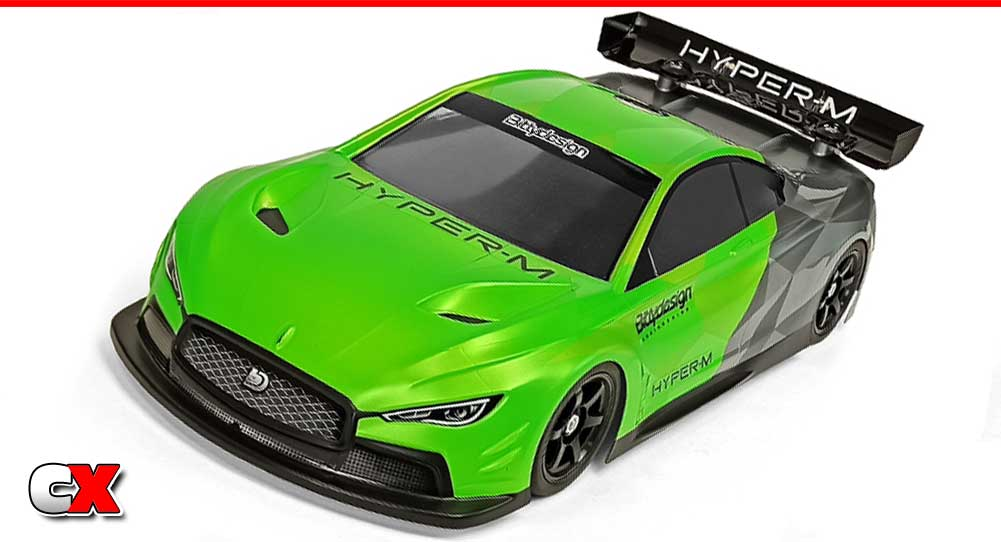 Bittydesign Hyper-M M-Chassis Bodyset | CompetitionX