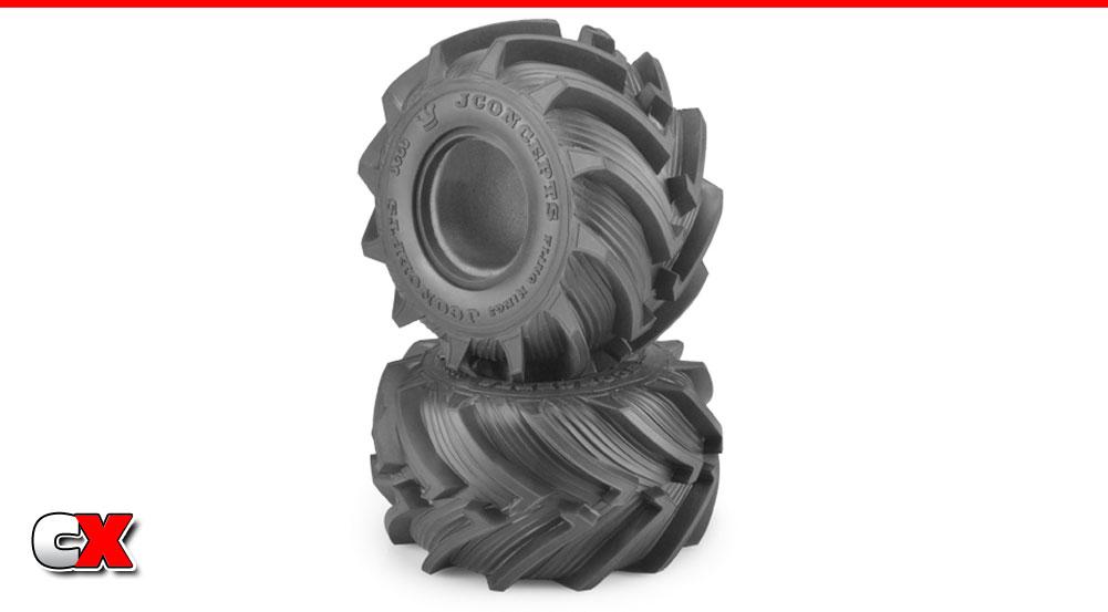 "JConcepts Fling King Jr 2.2"" Monster Truck Tires | CompetitionX"