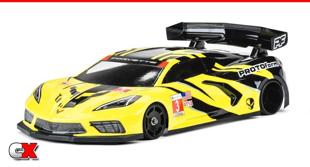PROTOform Chevrolet Corvette C8 GT12 Clear Body | CompetitionX