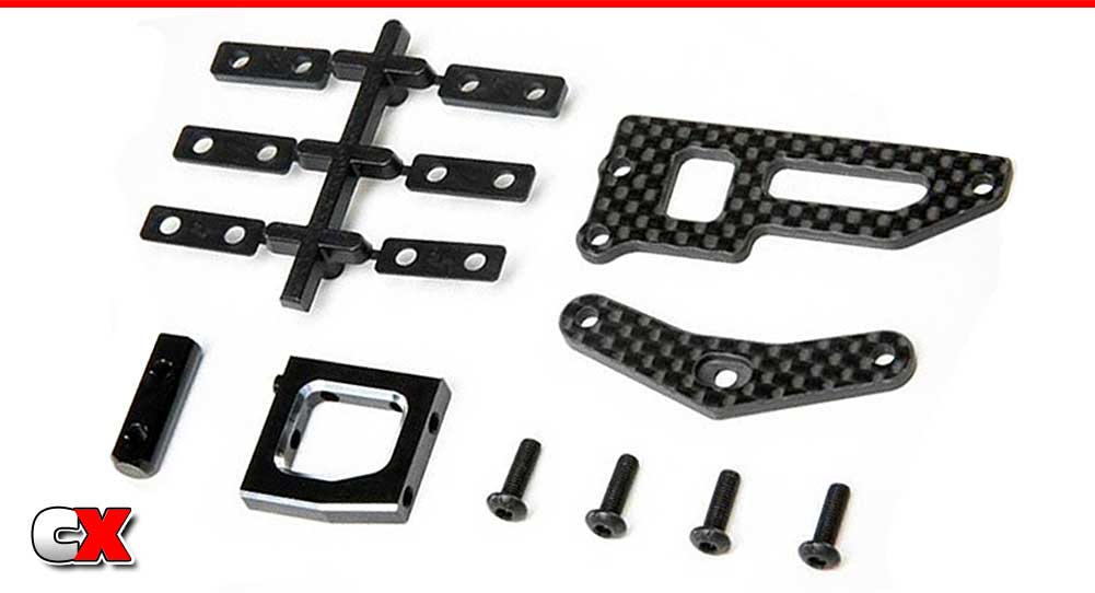 TLR Servo Mount Set V2 - 22X-4 | CompetitionX