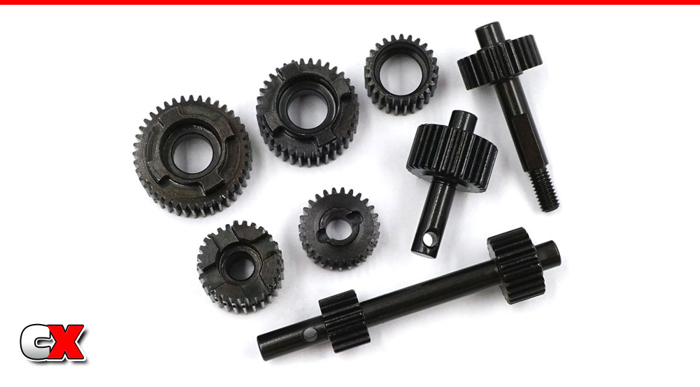 Xtra Speed HD Steel Transmission Gears - Axial SCX10 III | CompetitionX