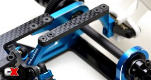 Exotek F1ULTRA Carbon Fiber Parts - Battery Cup, Rear Wing Mount | CompetitionX