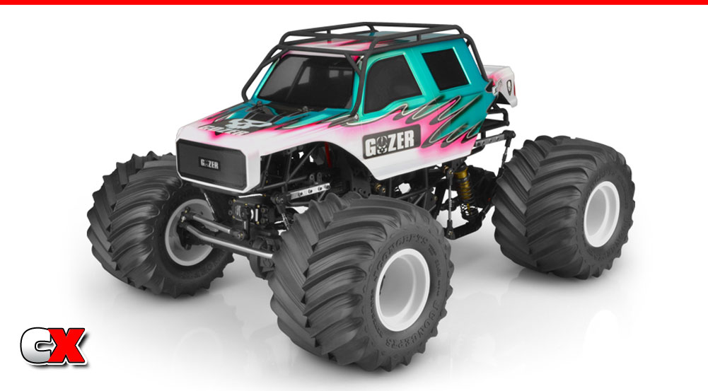 JConcepts Gozer Monster Truck Body | CompetitionX