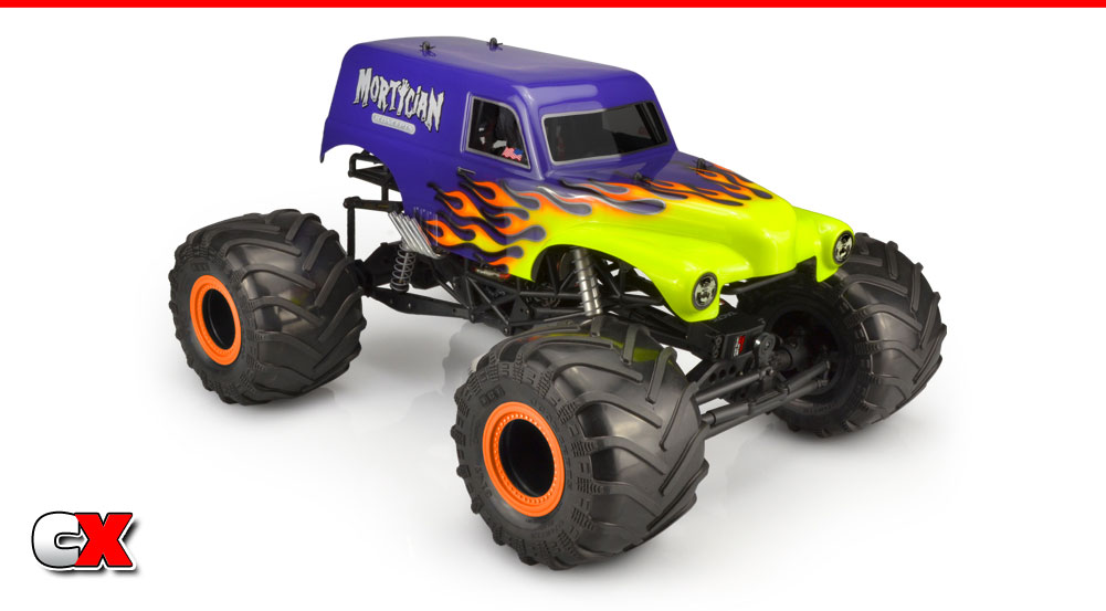 JConcepts JCI Mortician Clear Body | CompetitionX