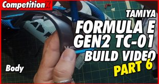 Video: Tamiya Formula E TC-01 Video Build – Part 6 | CompetitionX
