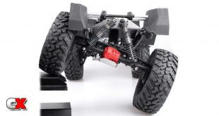 Xtra Speed Flex Conversion Kit - Axial SCX10 III   CompetitionX